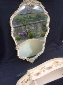 Very pretty French style ornate mirror