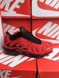 Red & Black Shoes Available Brand New