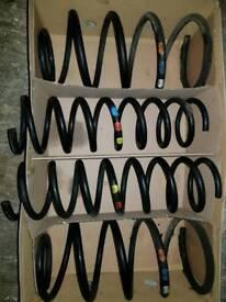 Set of 4 genuine Ford focus mk3 springs