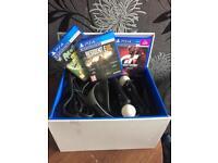 PS4 VR BUNDLE & 3 GAMES