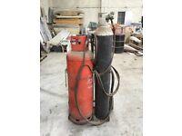 Gas burning equipment.