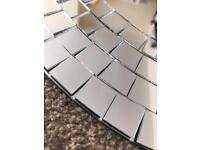 8 x Ikea Tranby Mosaic Mirrors