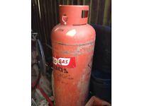 Empty 47kg Calor gas cylinder