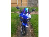 R6 really nice bike nice ride smooth every gear no time wasters full service histroy mot 12 months