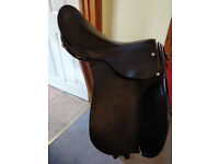 16 inch Havana GP saddle wide