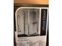 Shower enclosure door