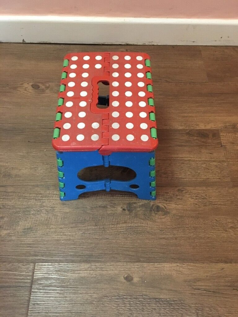 Remarkable Collapsible Folding Step Stool For Kids Adults In Red Blue Colour For 2 In Brentford London Gumtree Ibusinesslaw Wood Chair Design Ideas Ibusinesslaworg