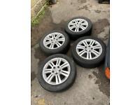 """Vauxhall corsa wheels & tyres 16"""" alloys"""