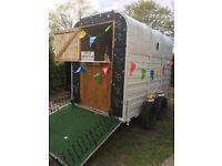 Classic Vintage horse trailer conversion/catering trailer/burger van/bar/coffee/shop