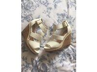 New look wedge heels size 7