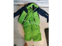 Winter waterproof boy suit age 6 to 7