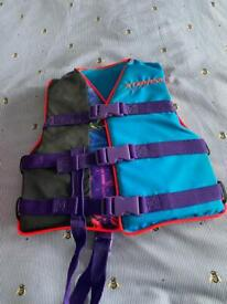 Child's life jacket Age approx 4 to 6