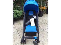 Recaro Easylife Compact Stroller - Blue