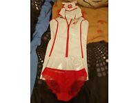 Pvc naughty nurse outfit