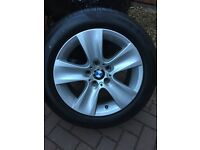 "Genuine 17"" BMW Alloys with Pirelli Tyres"