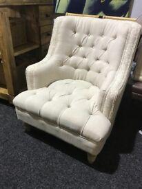 Unused fireside chair