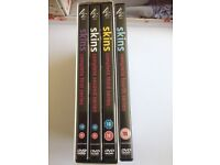 Great Condition Skins DVD Box set Series 1-4 (The best ones)