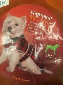 Brand new dog coat small