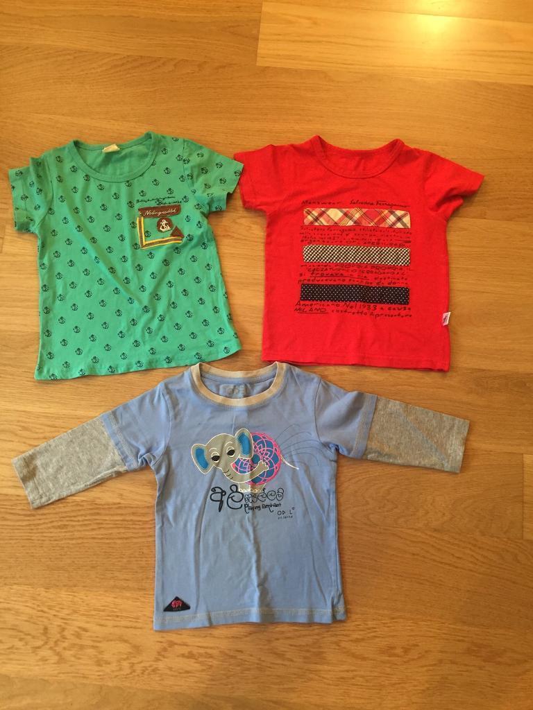 Boys Tshirts (3-4years old)