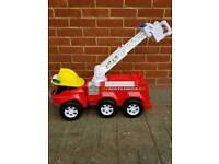 Childs musical fire engine