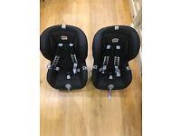 2x Britax Duo Plus isofix car seats - excellent condition