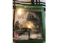 Sasses Creed origin gold edition perfect condition