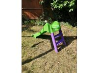 Toddler Garden Slide
