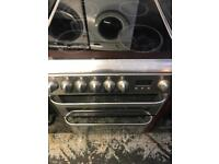 Hotpoint silver 60cm full electric cooker