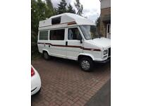 Talbot express camelon camper van double bed 11 month mot