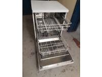 Beko white dishwasher