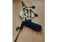 Bagpipes for sale, includes accessories, excellent condition, manuf. by David Naill & Co