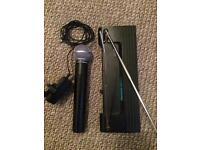 Shure SM58 radio/ wireless microphone
