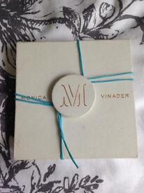 Used sterling silver Monica vinader bracelet
