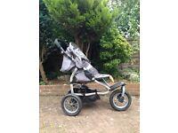 Three wheeler Mamas & Papas 'off road' buggy/pram