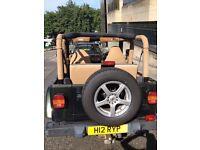 Low mileage Jeep Wrangler