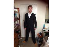 Good quality men's wool suit