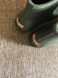 Hunter wellies size 7