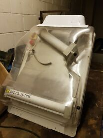 "'PIZZA SPRINT' M30 Pizza Dough Sheet Maker - Professional Model (7-12"")"