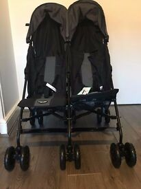 TWIN STROLLER OBABY APOLLO - BRAND NEW - £120 - ONO