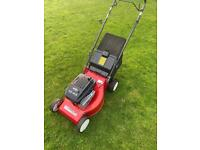 """Mountfield self propelled lawnmower serviced sharpened 18""""cut Briggs engine mower trade in welcome"""