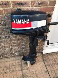 Yamaha 4hp short shaft outboard motor
