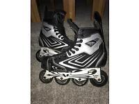 CCM inline roller skates/blades size 7.5