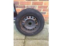 Steel wheel with tyre 185/65 R15