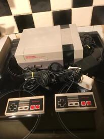 Nintendo NES Original console. Retro gaming