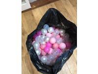 Large bag of ball balls