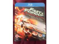 Fast and the Furious Bluray Boxset