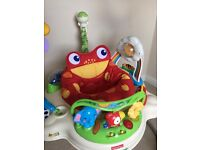Fisher-Price Rainforest Jumperoo Bouncer