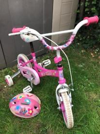 Barbie Bike, Barbie Helmet & Stabilisers