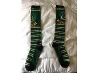 Long Harry Potter Slytherin socks