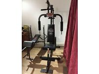 York 925 multi gym with weider bench